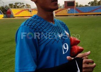 Bek Sriwijaya FC Ambrizal. (fornews.co/iwan setiawan)