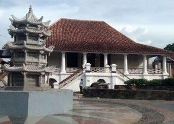 Bangunan Kampung Kapitan tempat pemerintahan Kapiten dari etnis Tionghoa di Palembang. (ist)