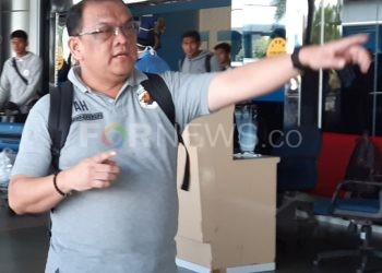Manajer Babel Muba United Achmad Haris. (fornews.co/iwan setiawan)