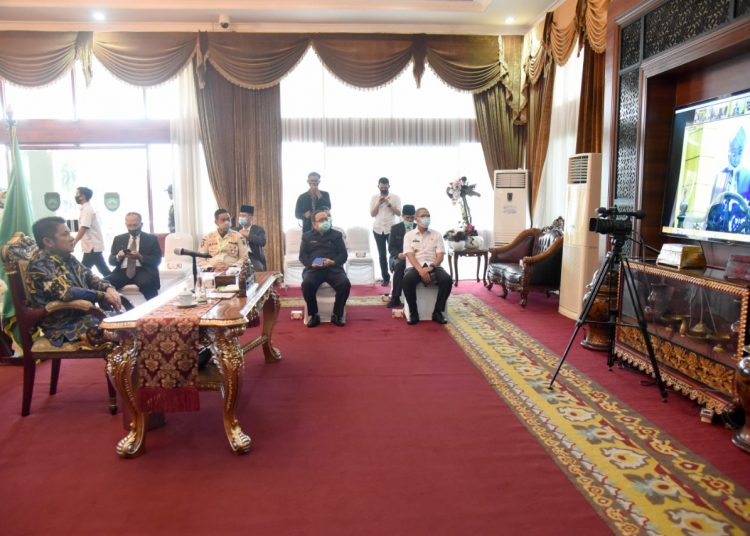 Peringatan HUT Kabupaten Ogan Komering Ulu (OKU). Foto: Fornews.co/Istimewa