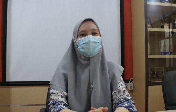 Plt Kepala Bidang Kesehatan Masyarakat Dinas Kesehatan Kota Palembang, dr Mirza Susanty. (fornews.co/bakohumas palembang)