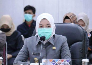 Wakil Wali Kota Palembang Fitrianti Agustinda. (fornews.co/bakohumas palembang)
