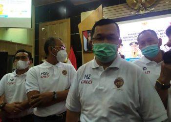 Direktur Utama PT SOM Hendri Zainuddin. (fornews.co/iwan setiawan)