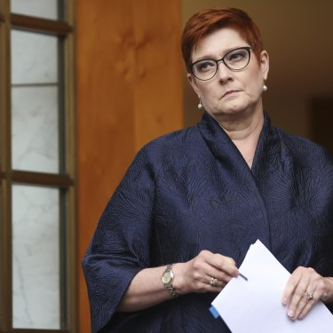 Menteri Luar Negeri AustraliaMenteri untuk Perempuan, Senator The HonMarise Payne. (fornews.co/ist/net)