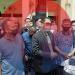 Ketua Korsa Lintas-Advokat Sumsel, Febuar Rahman SH Bersama rekan-rekan advokat menjawab pertanyaa media usai menemui Pimpinan DPRD Sumsel, Rabu (5/5/2021). (fornews.co/sidratul muntaha)