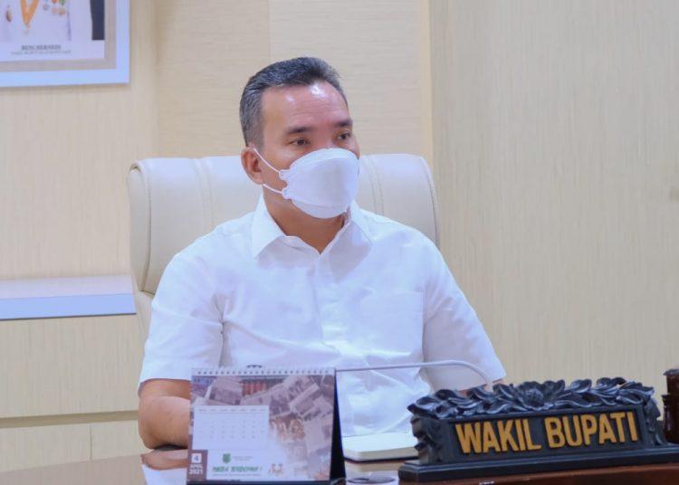 Wakil Bupati Muba, Beni Hernedi. (fornews.co/humas pemkab muba)