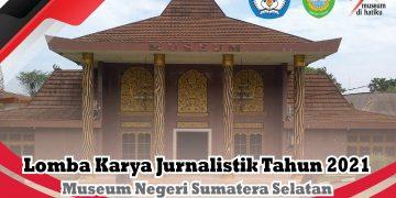 Poster Lomba. (istimewa/Museum Negeri Sumsel Balaputra Dewa)