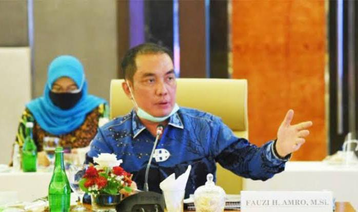 Ketua Ketua Kapoksi Fraksi Nasdem Komisi XI DPR-RI, Fauzi H Amro. (fornews.co/ist)