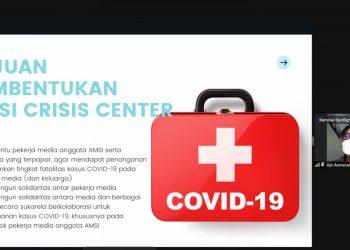 AMSI Crisis Center COVID-19. (fornews.co/ist)