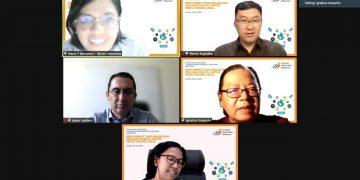 Riset Lanskap Media Digital di Indonesia Menyambut Tantangan dan Peluang Digital untuk Media Online Lokal' secara virtual, Kamis (29/7) sore kemarin. (fornews.co/ist)