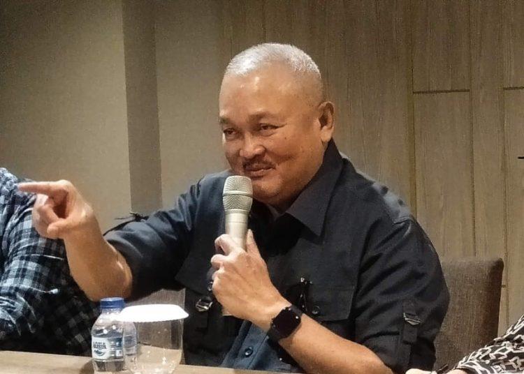 Gubernur Sumsel periode 2008-2018, Alex Noerdin. (fornews.co/sidratul muntaha)