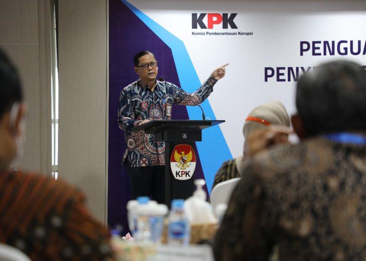 Plt Deputi Bidang Pendidikan dan Peran Serta Masyarakat KPK, Wawan Wardiana. (fornews / ist)